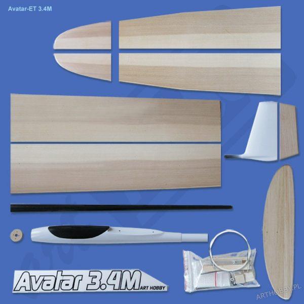Avatar-ET 3.4M (F5J) - flaps (LOTKI I KLAPY!) (#0092)