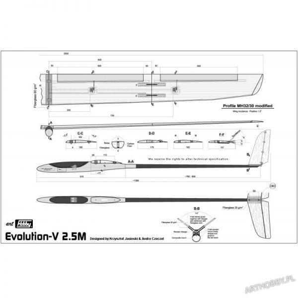 Evolution-V 2.5M (#0073)