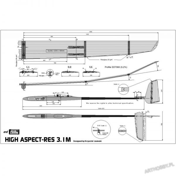 High Aspect-RES 3.1M (#0058)