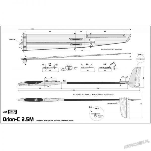 Orion-C 2.5M (#0076)