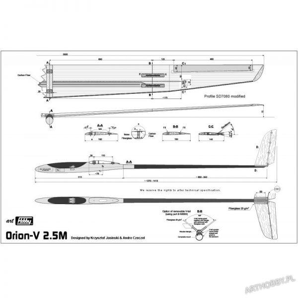 Orion-V 2.5M (#0075)