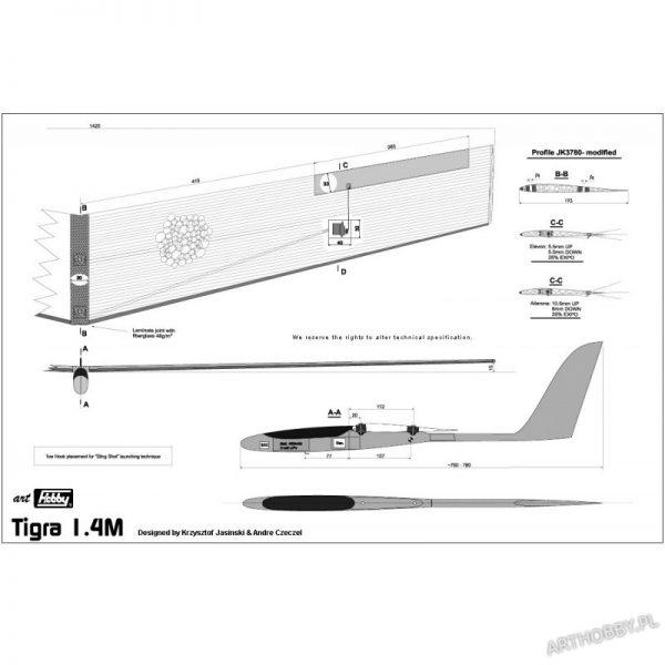 Tigra 1.4M (#0022)